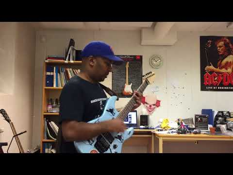 Prophets of rage - Living on the 110 guitar cover (with guitar solo)