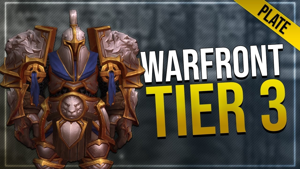 battle for azeroth armor sets