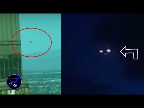 Giant two UFO captured in Las Vegas and Russia! Nov 8,2018