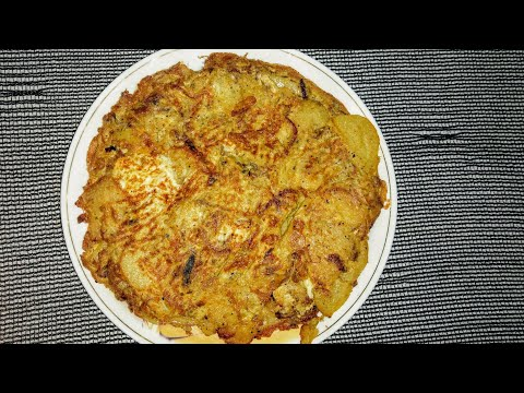 Spanish Omelette Recipe | Breakfast Special _Cooking With Nida