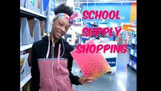 Jamya's  Orientation/SCHOOL SUPPLY SHOPPING ......