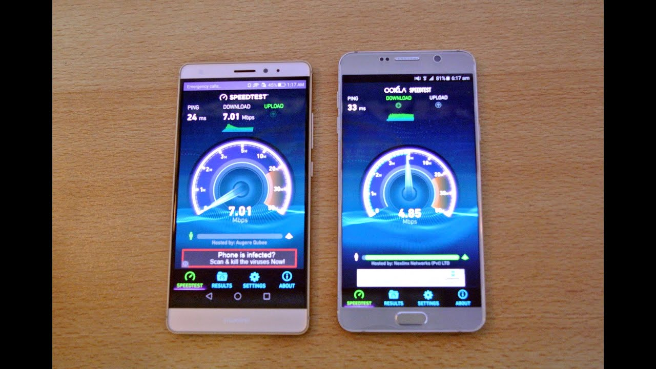 Huawei Mate S Vs Samsung Galaxy Note 5