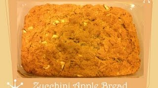Homemade Zucchini Apple Bread