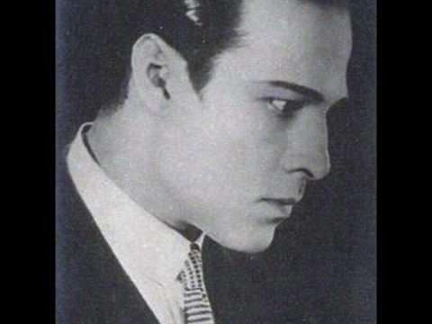 "TANGO A. Heller - ""Rodolfo Valentino"" - RUDOLPH VALENTINO ..."