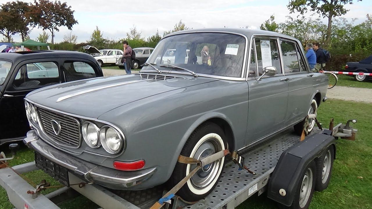 1969 lancia flavia 2000lx veterama mannheim 2015 youtube. Black Bedroom Furniture Sets. Home Design Ideas