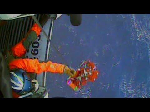 Raw Video: Rescued from sunken HMS Bounty