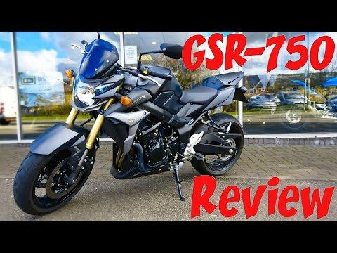 Suzuki GSR-750 Review!