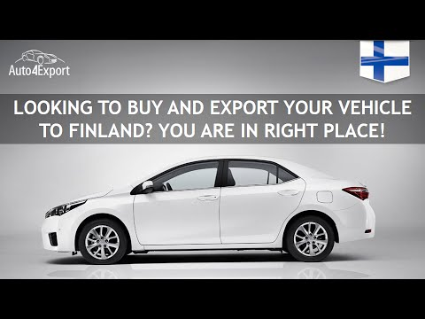 Shipping cars from USA to Finland - Auto4Export
