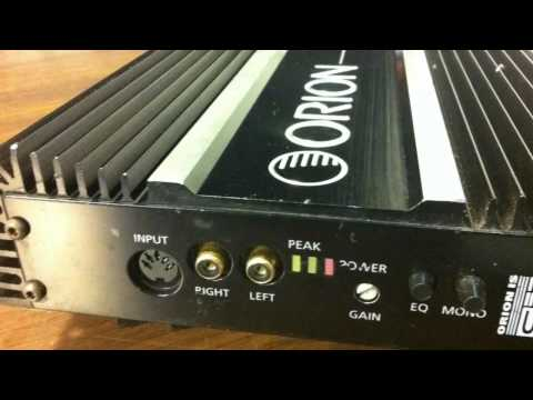 Old School 75x2 Amps RMS Wattage Output Teaser