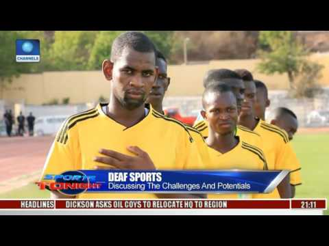 Sports Tonight: Nigeria Emerges African Champions Of Deaf Football Tournament