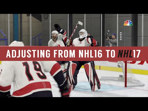NHL 17 Goalie Tips – Adjusting from NHL 16 to NHL 17 (Deflections, Getting Sniped, Wrap Arounds)