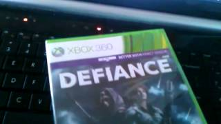 Defiance Unboxing Xbox  360