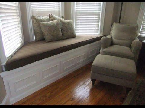 Bay Window Seat Cushion - YouTube