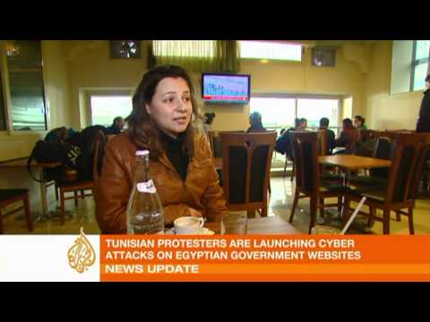 Tunisian cyber activists take on Egyptian cause