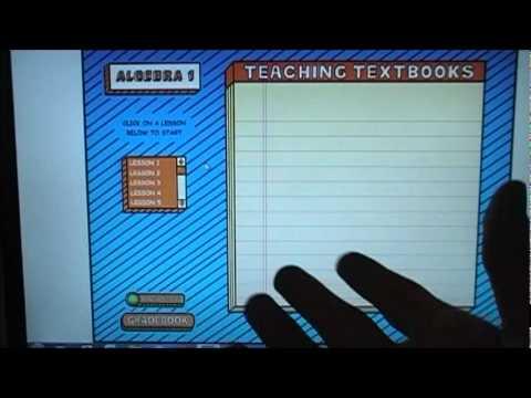Teaching Textbooks Algebra 1 Review - YouTube