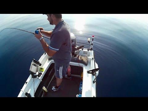 Slow..Fast..Light..Pitch..Jigging Style Technique in Mediterranean Sea..