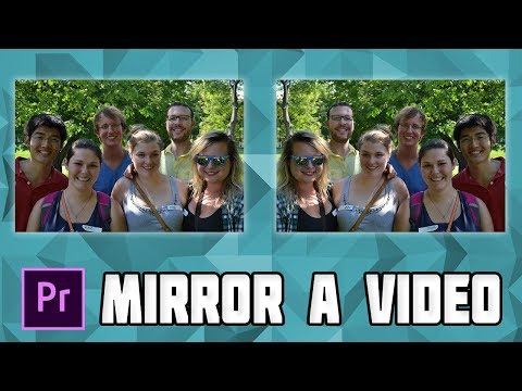 How to Mirror a Video Clip in Adobe Premiere Pro! Mirror a Clip in Premiere Pro! thumbnail