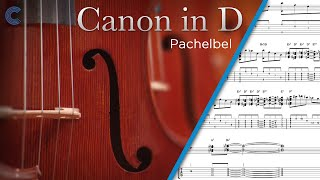 Cello - Canon in D - Pachelbel - Sheet Music & Chords