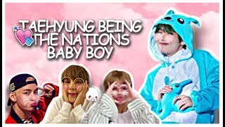 taehyung being the nations babyboy for 15 minutes