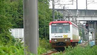 [警笛あり]上信電鉄6000形「高崎行き」南高崎駅付近通過