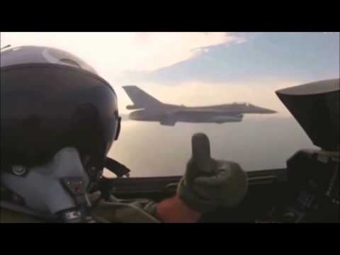 F-16 Fighting Falcon Music Video, Kagami No Naka Jean D'arc