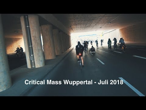 Critical Mass Wuppertal - Juli 2018