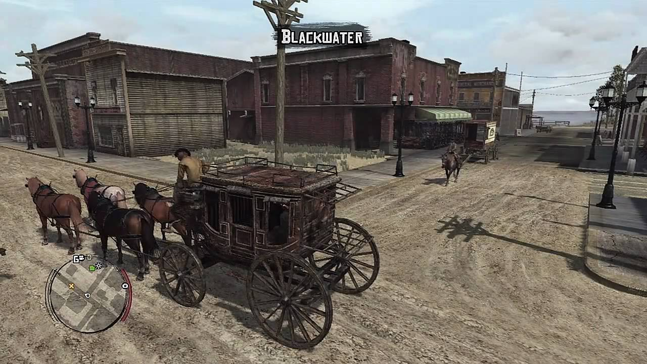 Red Dead Redemption Gameplay Quot Massacre In Blackwater