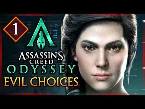 Assassin's Creed Odyssey: EVIL CHOICES - Story Walkthrough as Kassandra #1