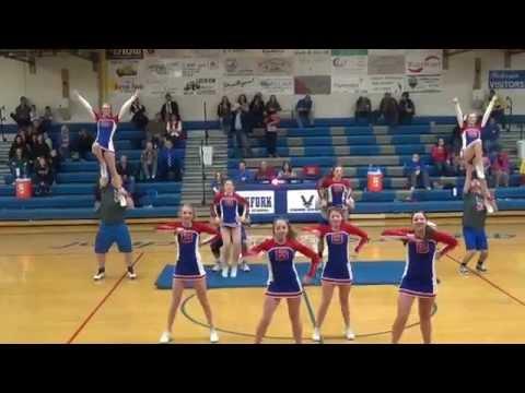 Bigfork High School Cheer Squad 2015