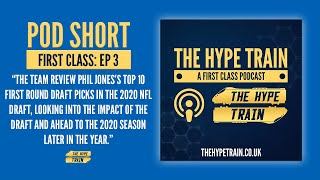 First Class Podcast (Episode 3): 2020 NFL Draft Review - Our Top 10 Picks
