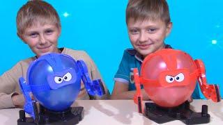 Битва Надувных Роботов Balloon Battle Challenge Новый Челлендж