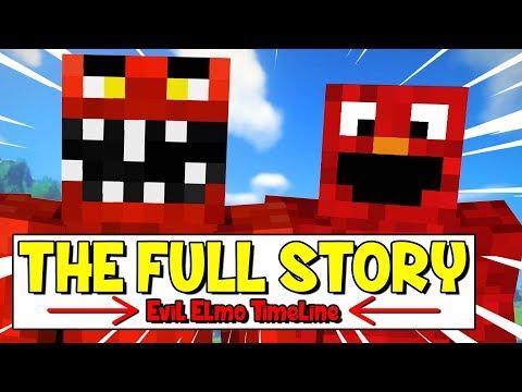 The Minecraft Evil Elmo Timeline (Evil Elmo's Complete Story)