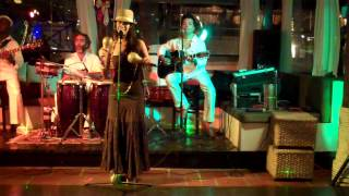 Salsa Band St.Maarten Latin Sugar playing in Rancho in St.Maarten Dutch Caribbean