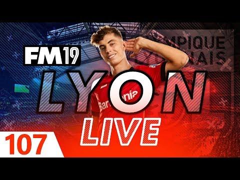 Football Manager 2019   Lyon Live #107: Monaco Vs PSG  #FM19