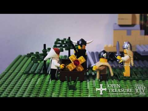 The Story Of Durham Cathedral In Lego  Part One