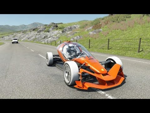 Assetto Corsa Community-Challenge: Hillclimb of Mount Everest in the Dallara FX/17 - with The Simpit