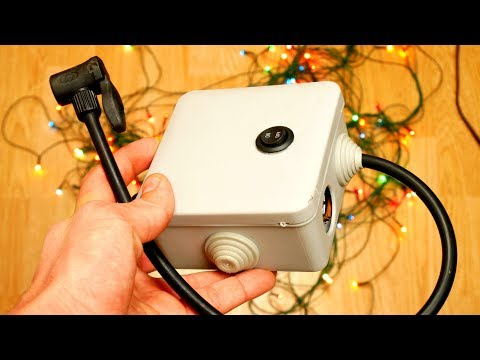 How to make a Simple DIY Powerful Homemade Compressor