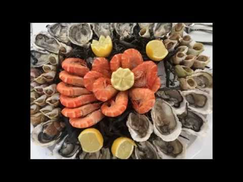 Vente et dégustation de fruits de mer à Marseille