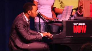 John Legend sings Marvin Gaye