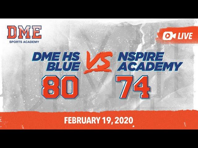 DME HS Blue vs NSpire