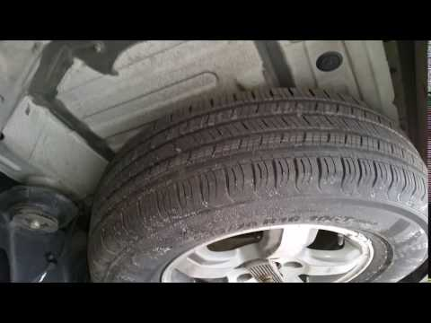 2006 Honda Pilot With Full Size Spare Tire! No More Small Donut Spare Tire