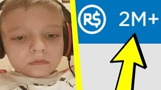 RICH Roblox Kid Spends OVER 2 MILLION Robux From Their Parents