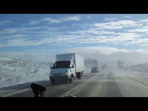 Зимняя дорога Ставрополь-Невинномысск( через Тоннельный)-2