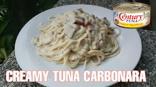 HOW TO COOK CREAMY TUNA CARBONARA | BY CHICHAY