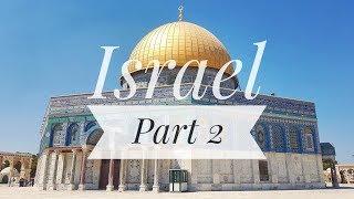 JERUSALEM + BETHLEHEM [ISRAEL] - Holy Sights travel vlog!