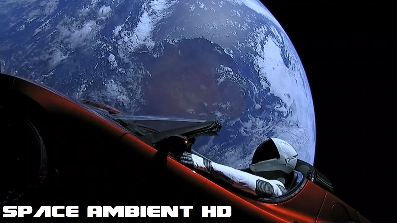 spacex falcon heavy starman tesla roadster ambient music hd youtube. Black Bedroom Furniture Sets. Home Design Ideas