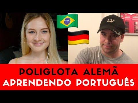 Poliglota Alemã Aprendendo Português: Lina Vasquez Gabriel Poliglota
