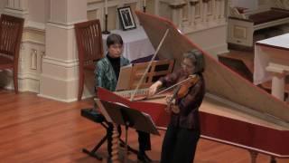 J.S. Bach: Sonata in A Major for Violin and Harpsichord BWV 1015, Presto
