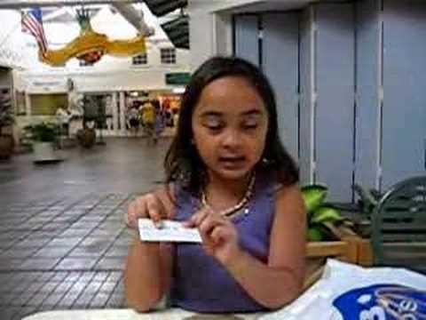The little Maui sales girl