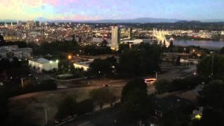 Take The OHSU Tram On A Twilight Ride
